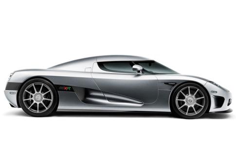 Auch Platz 7 belegt Koenigsegg. Und die Daten sprechen für sich: Null auf Hundert in 2,9 Sekunden, Null auf 200 km/h in 8,75, Höchstgeschwindigkeit 410 km/h.