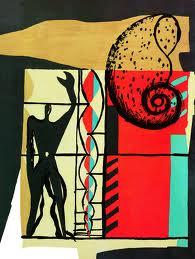 Foto: Le Corbusier: B.2, esprit aus Le poème del'angle droit, 1955, S. 55 © FLC/VG Bild-Kunst, Bonn 2012